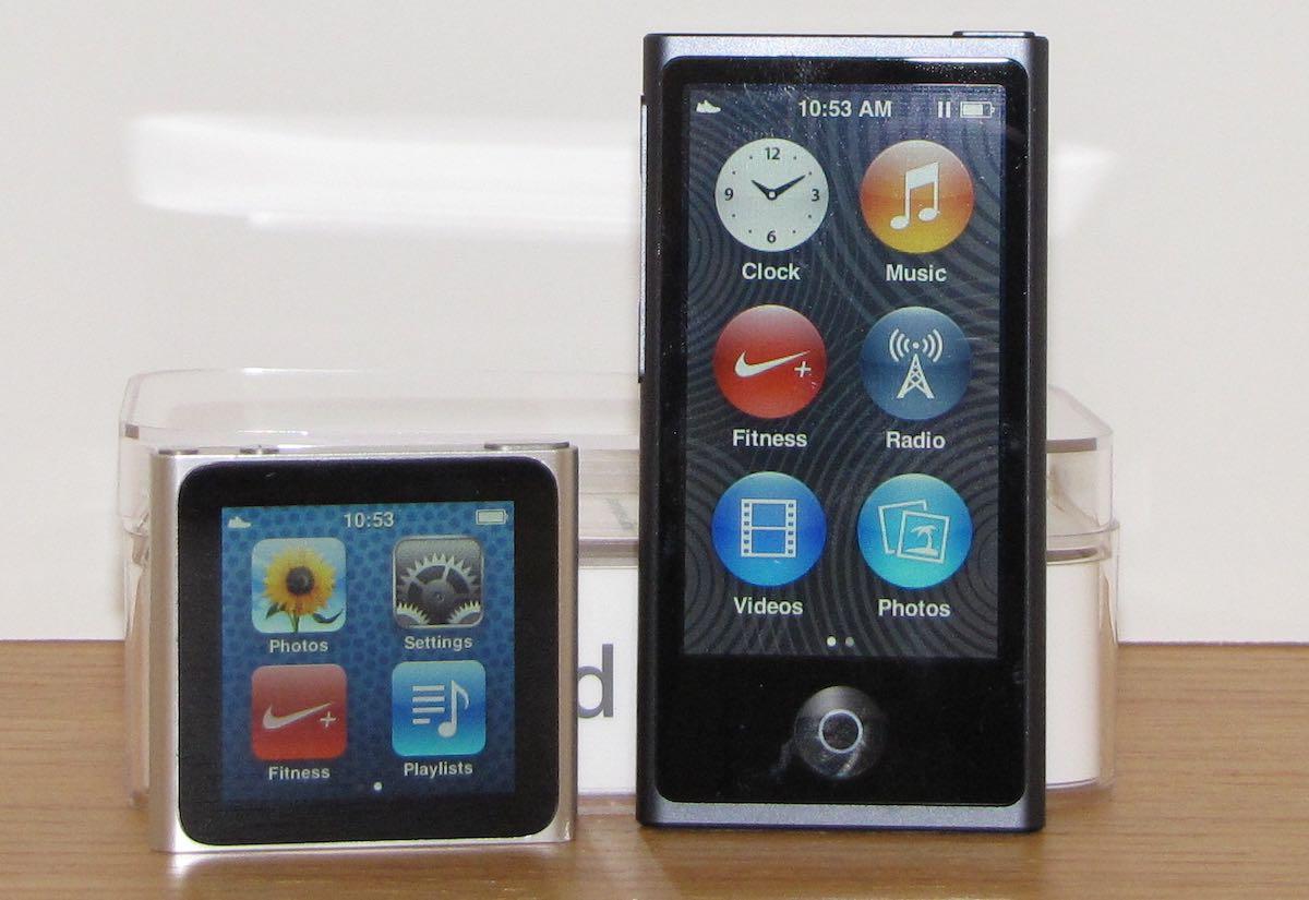 ipod nano 7th generation - HD1200×825