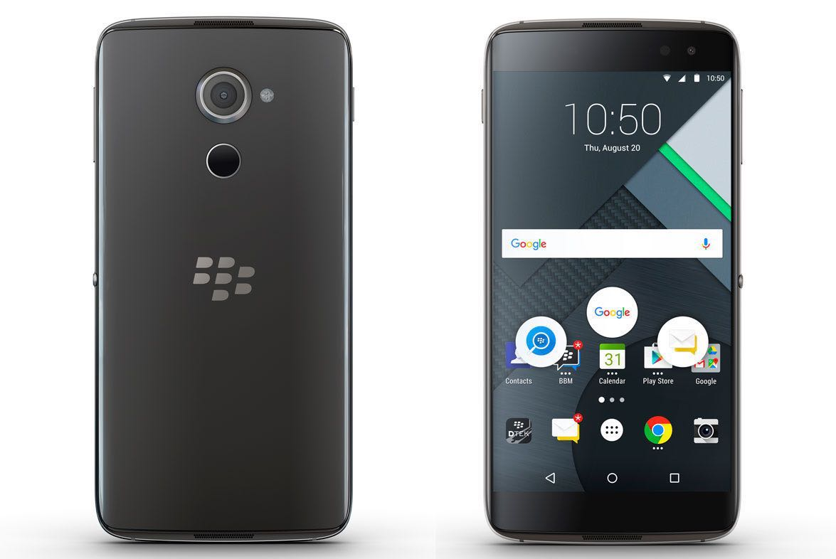 BlackBerry DTEK60 Android 3