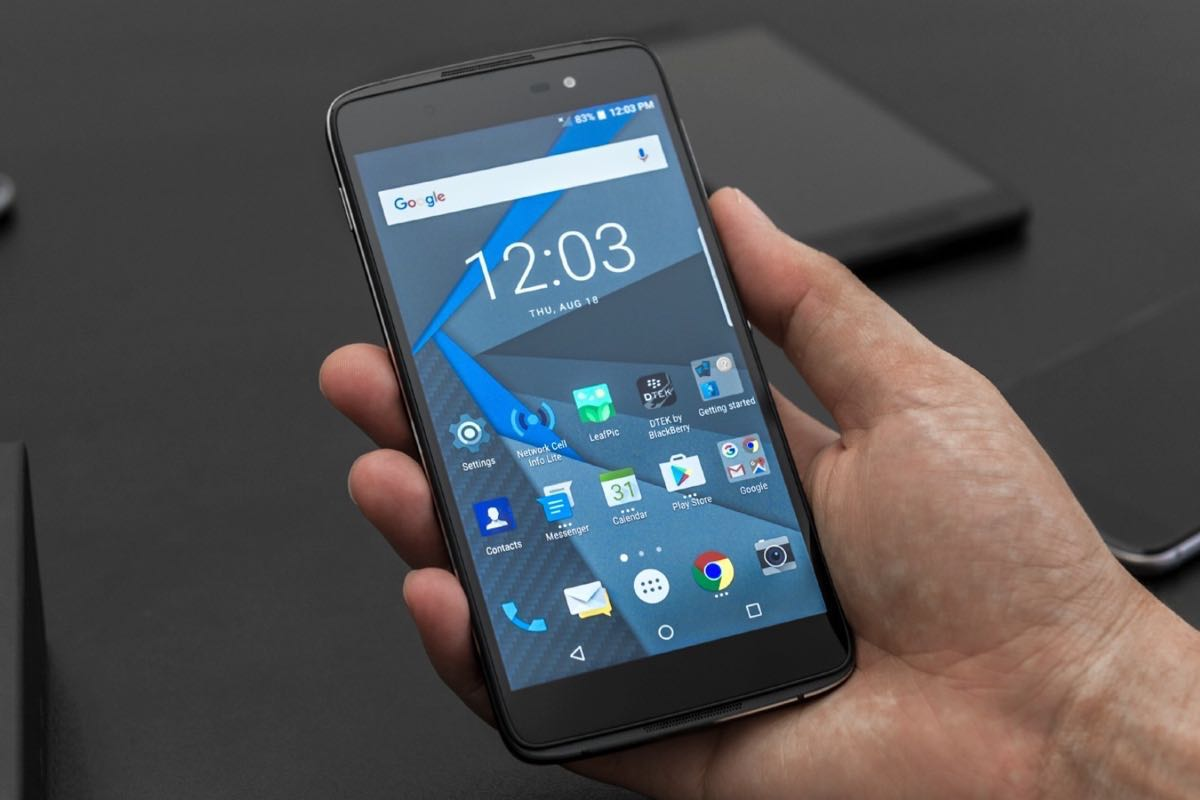 BlackBerry DTEK60 Android