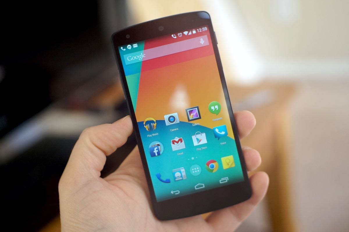 Google Nexus 5 Android 7.1 Nougat Download