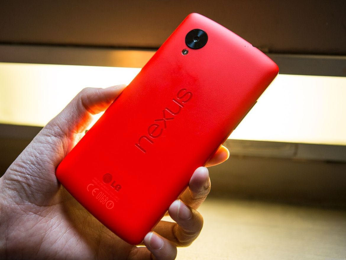 Google Nexus 5 Red USA 2