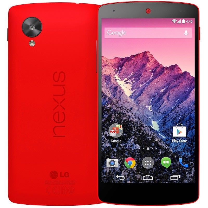 Google Nexus 5 Red USA