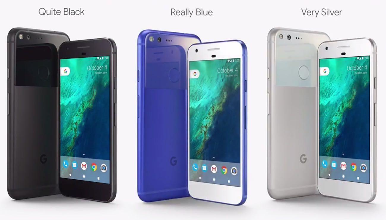 Google Pixel XL smartphone 2