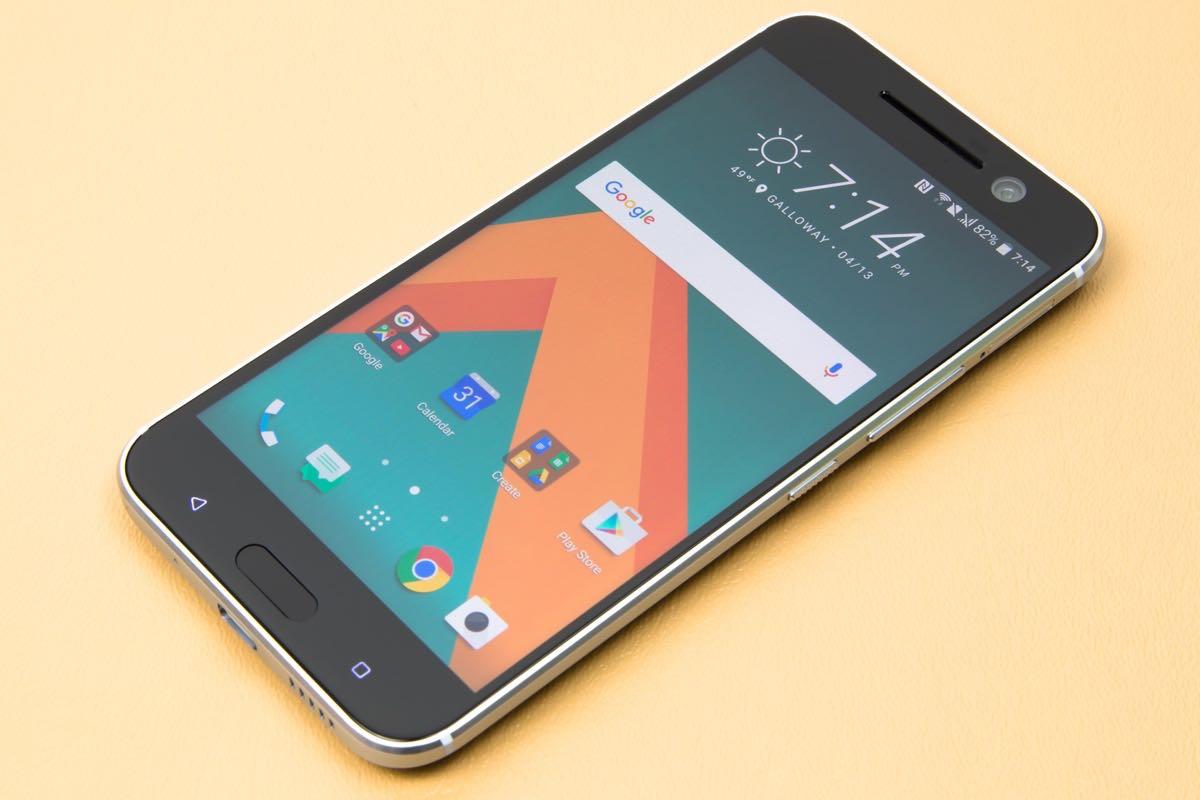 HTC 10 evo Bolt Android 7 Nougat