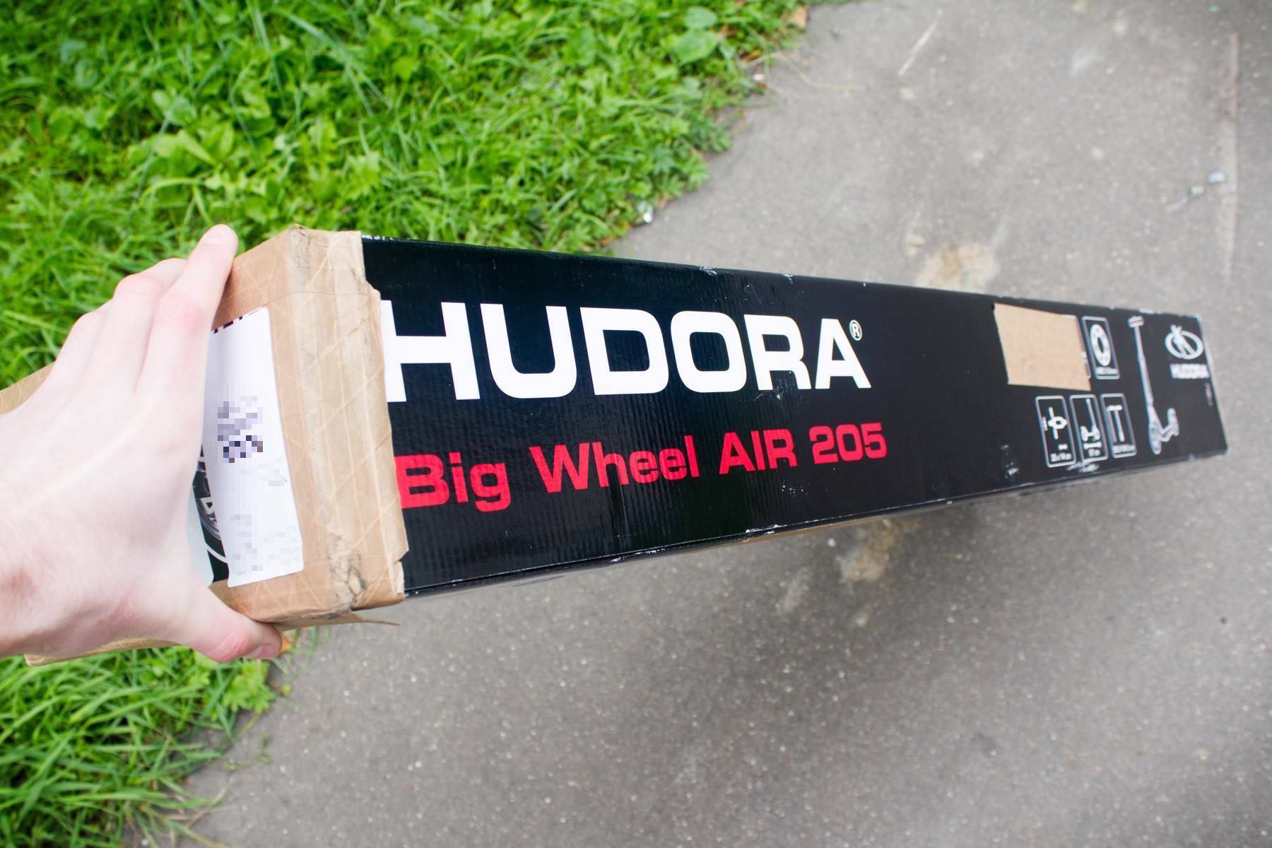 Hudora Big Wheel Air 205 Russia Review 00