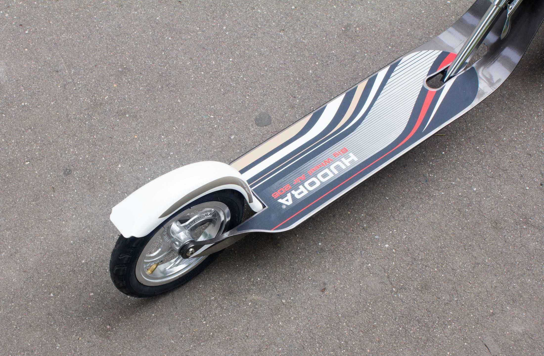 Hudora Big Wheel Air 205 Russia Review 12