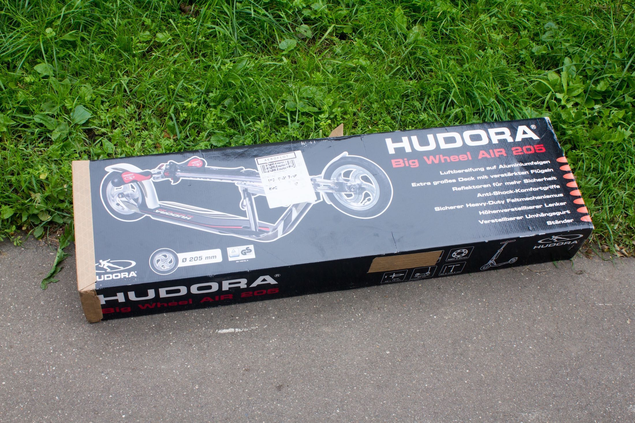 Hudora Big Wheel Air 205 Russia Review 39