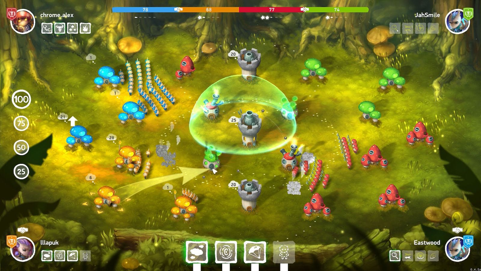 Mushroom Wars 2 App Store Download Hack Crack iOS 3