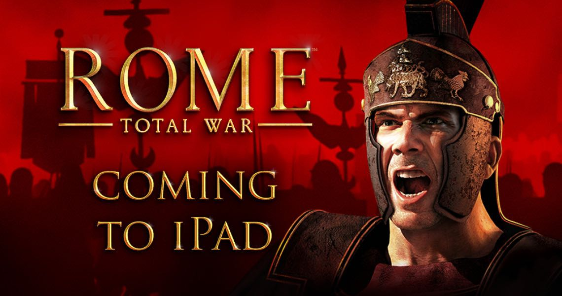 Rome Total War iPad App Store