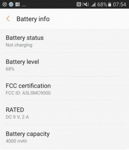 Samsung Galaxy C9 4
