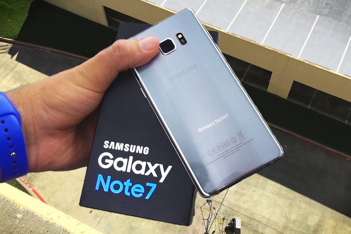 Samsung Galaxy Note 7 Russia