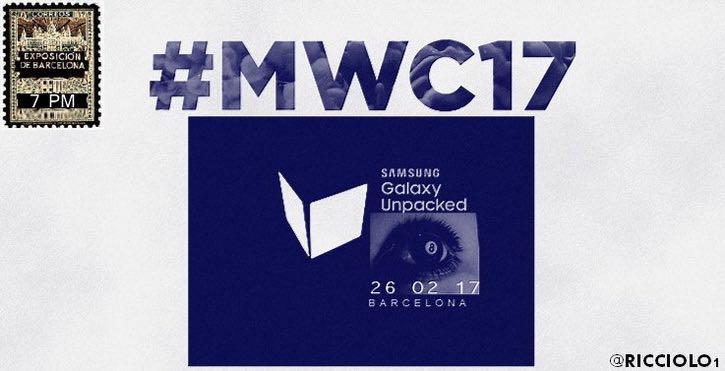 Samsung Galaxy S8 date Unpacked