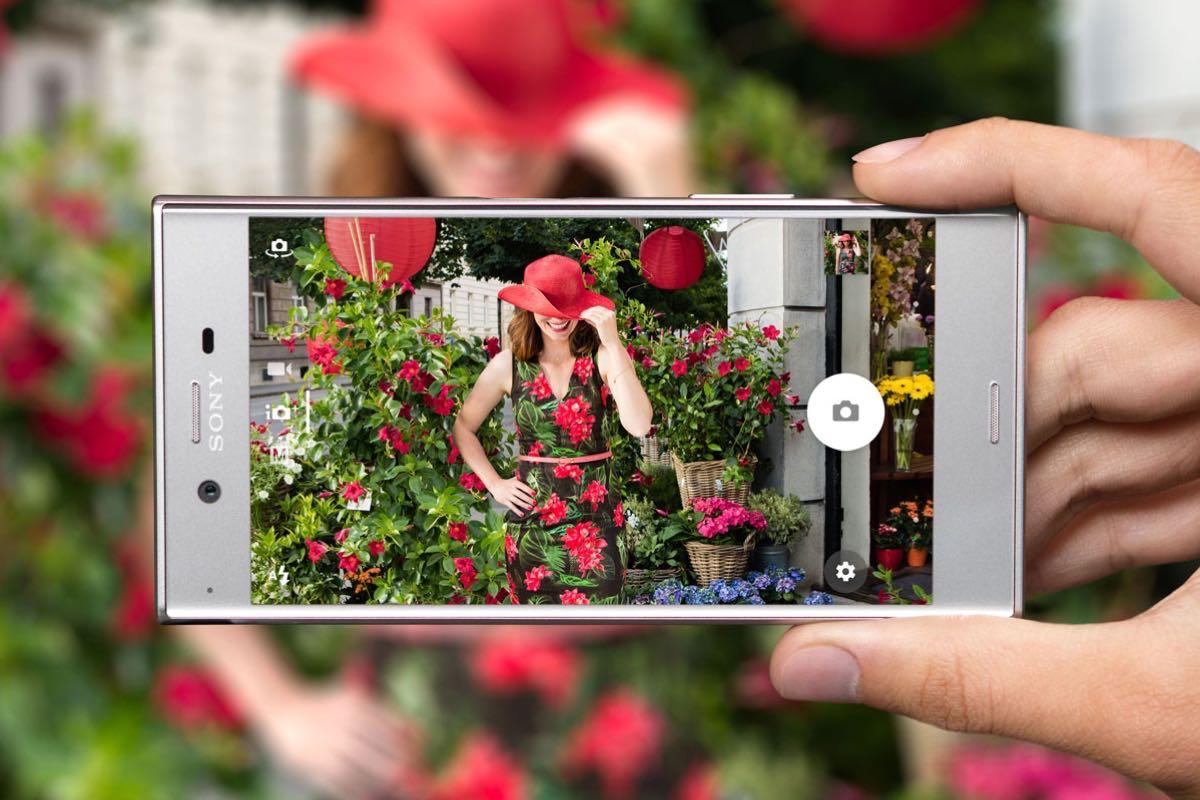 Sony Xperia XZ camera