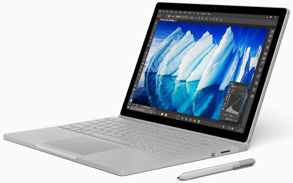Surface Book и Surface Pro 5