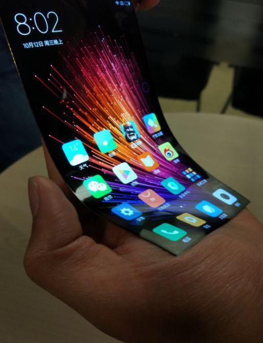 Xiaomi Mi гнущийся