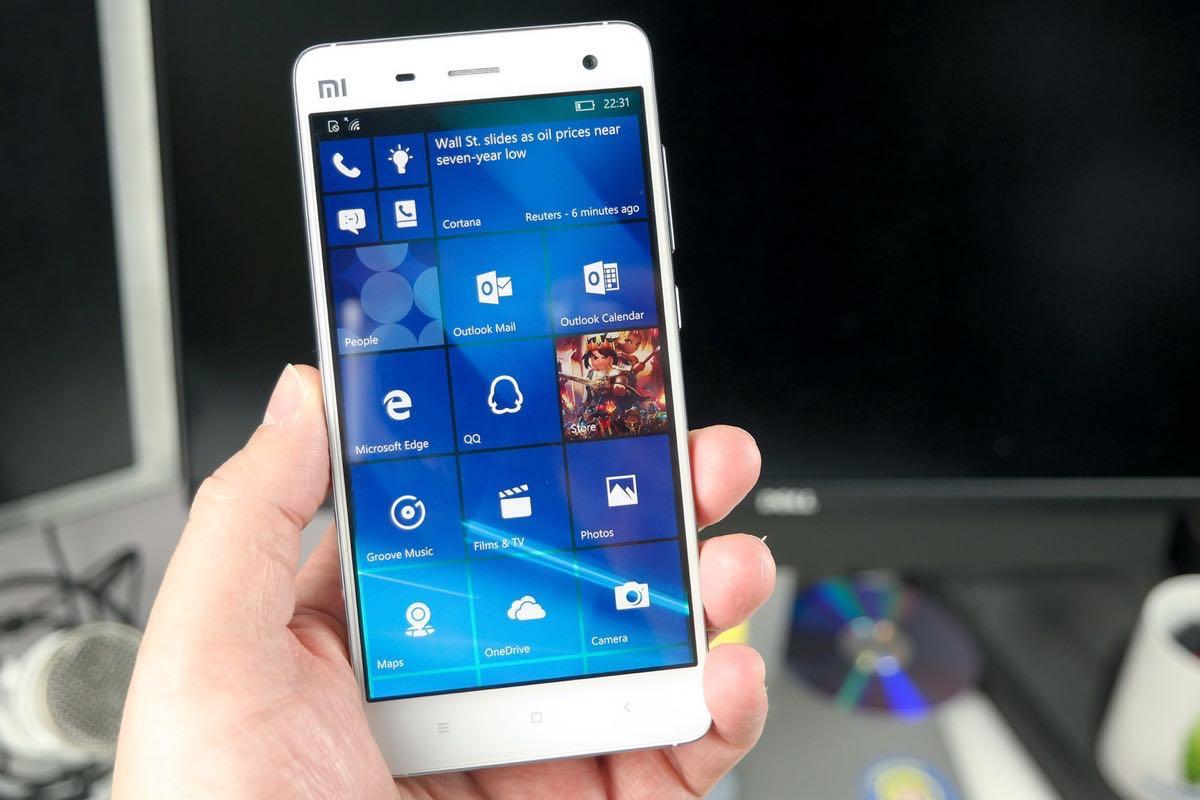 Xiaomi Mi5 Windows 10 Mobile 2