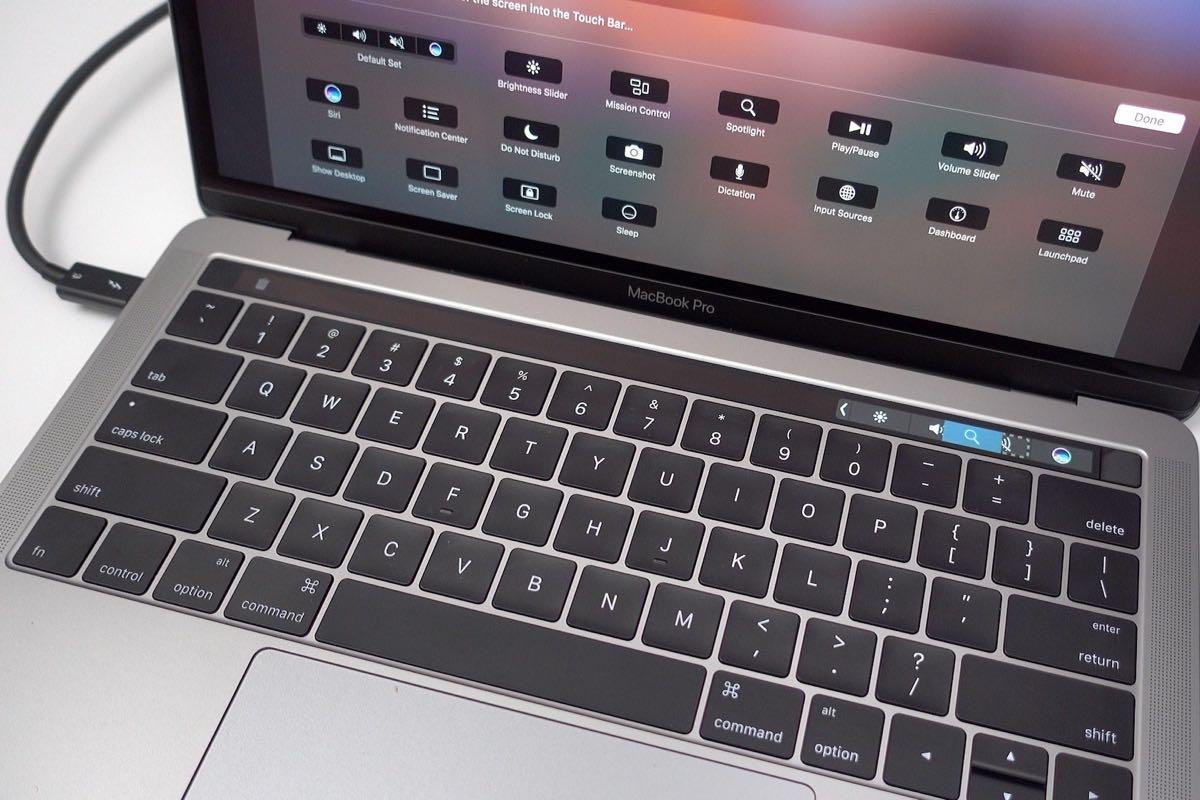 Apple MacBook Pro 2016 Touch Bar 2