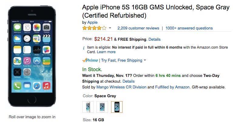 Apple iPhone 5s Buy USA Russia