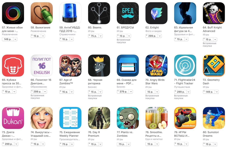 Apple iPhone 7 App Store Black Friday 2