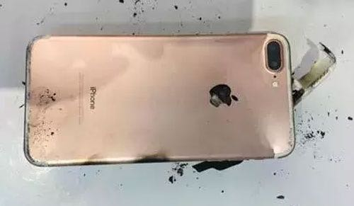 Apple iPhone 7 Plus Blow Fire 2