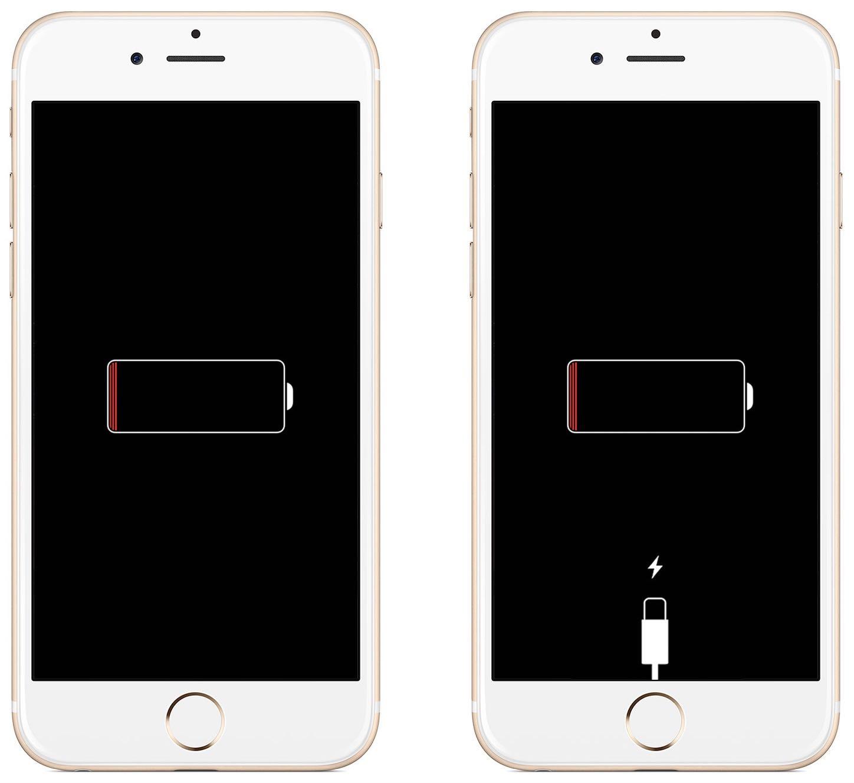 если айфон полностью разрядился и не заряжается МАЛЫШЕВА