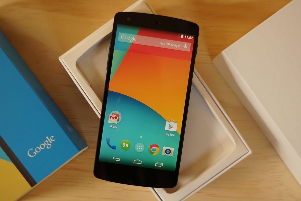 Google Nexus 5 Buy Shop Unboxing Review