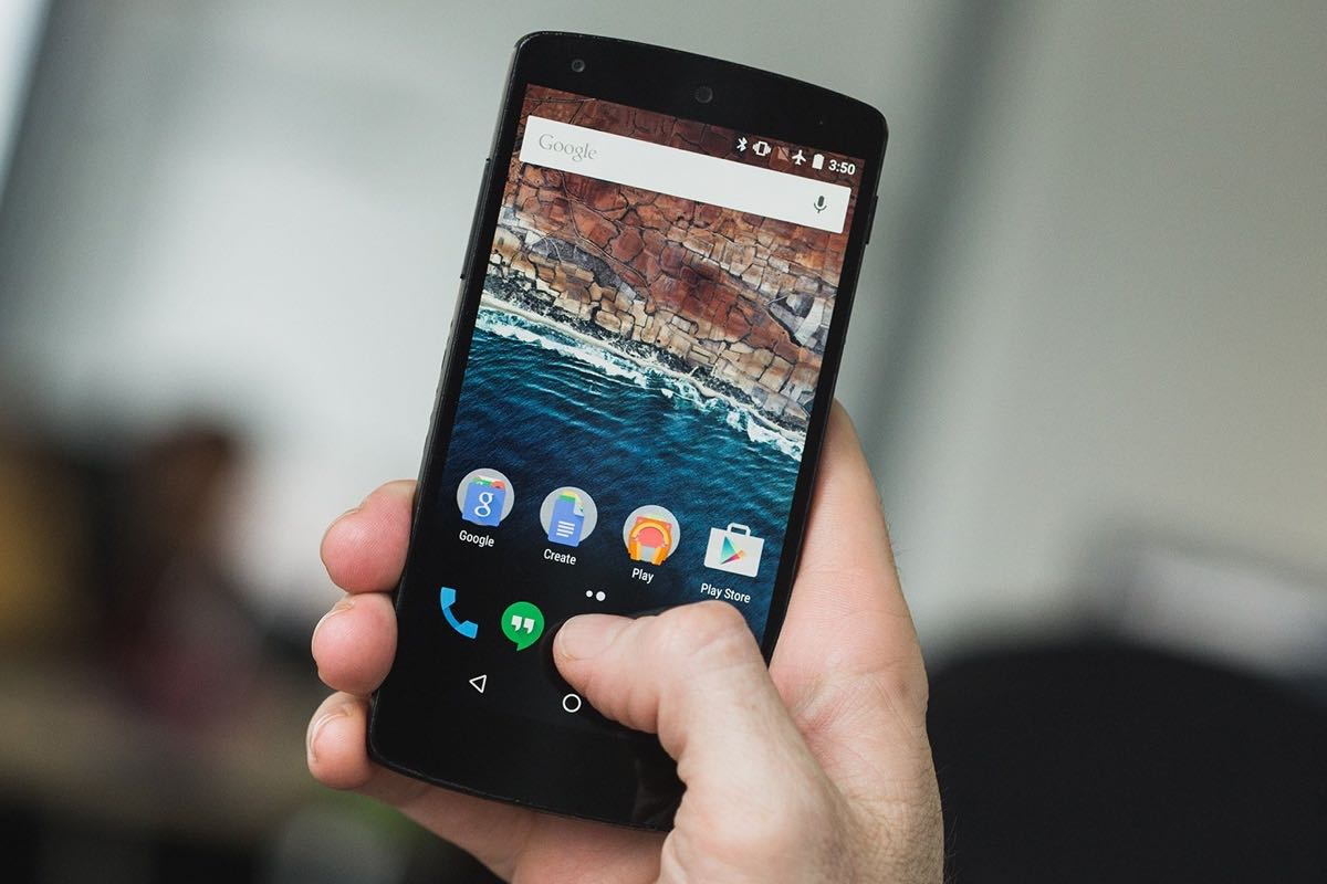 Google Nexus 5 black 2