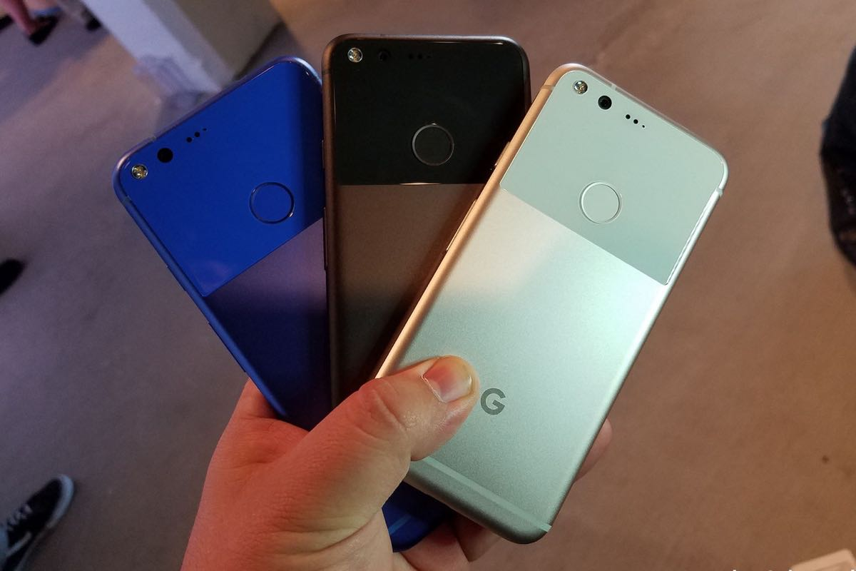 Google Pixel M Blue 3