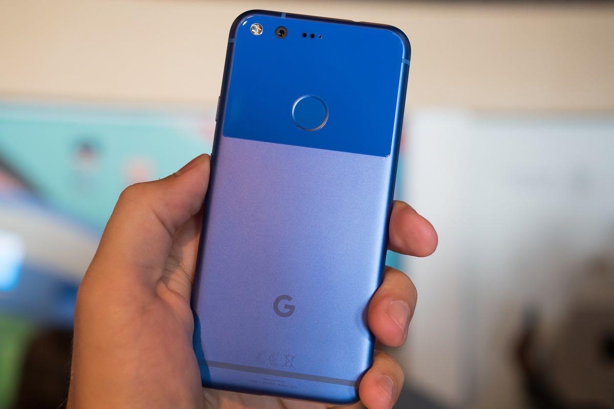 Google Pixel M Blue