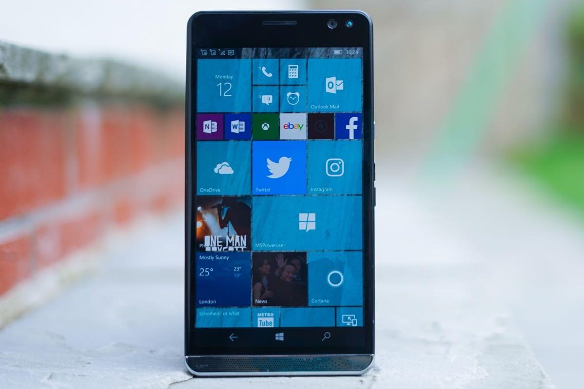 HP Elite x3 Windows 10 Mobile 2