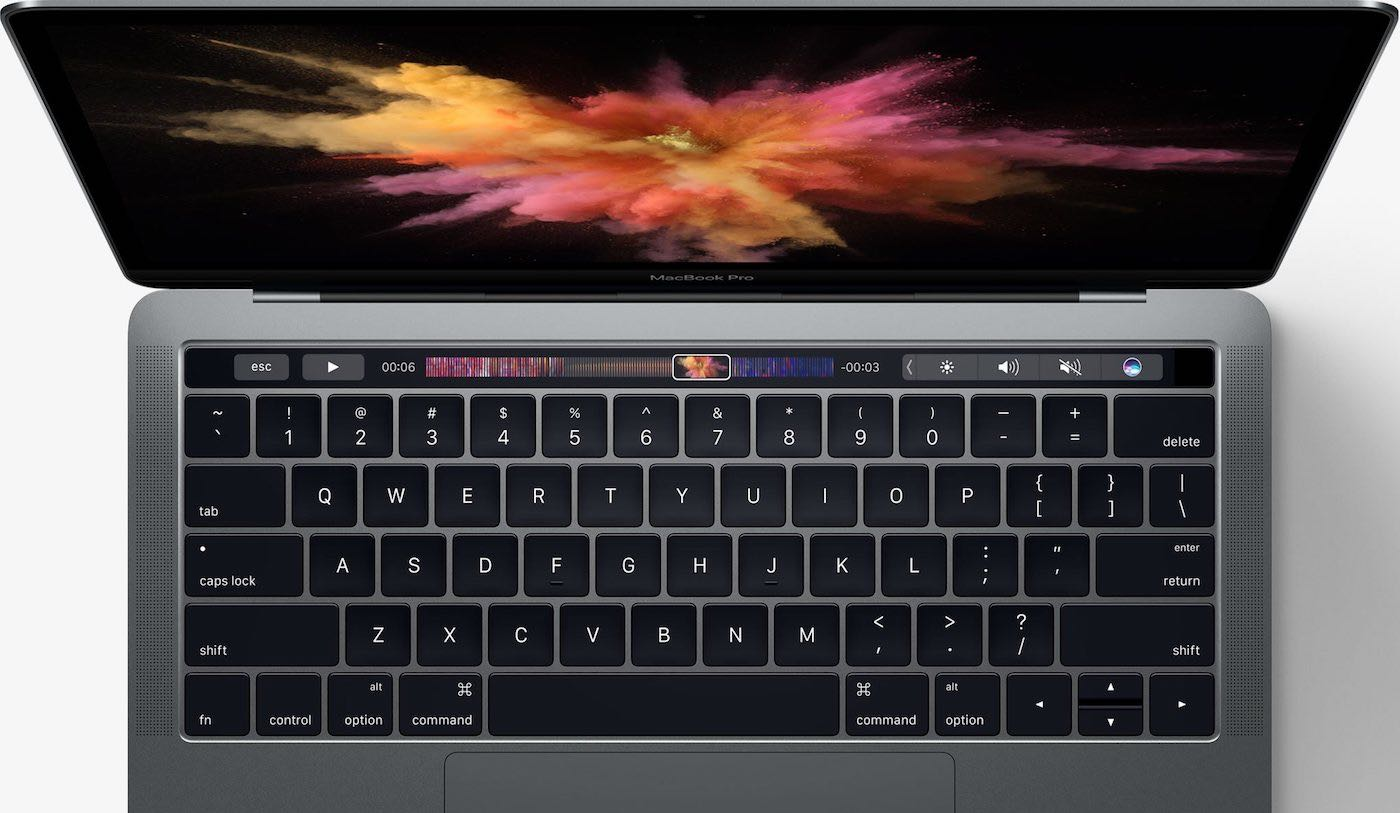 MacBook Pro Touch Bar OLED 2
