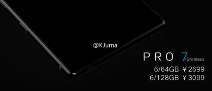 Meizu Pro 7 Xiaomi Mi Mix Display 12
