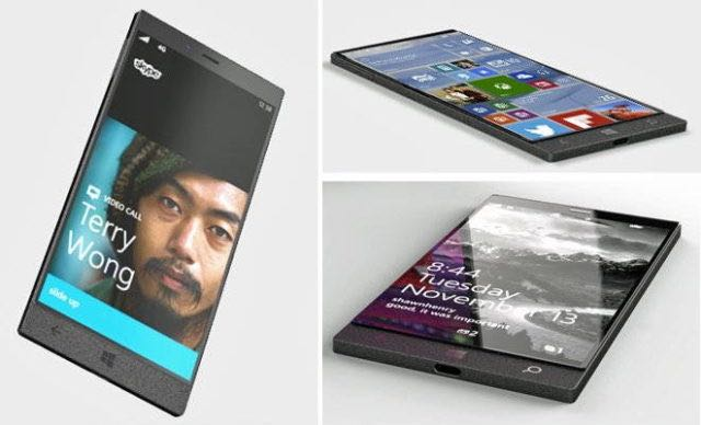 Microsoft Surface Phone Windows 10 2