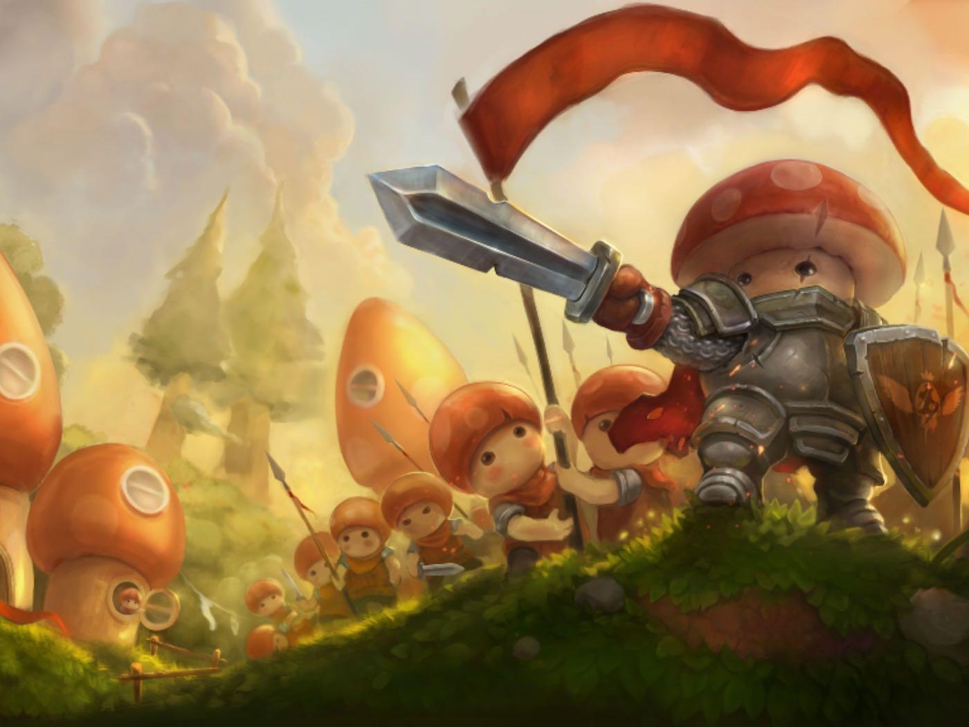 Mushroom Wars 2 Review iPad iPhone Download Free 0