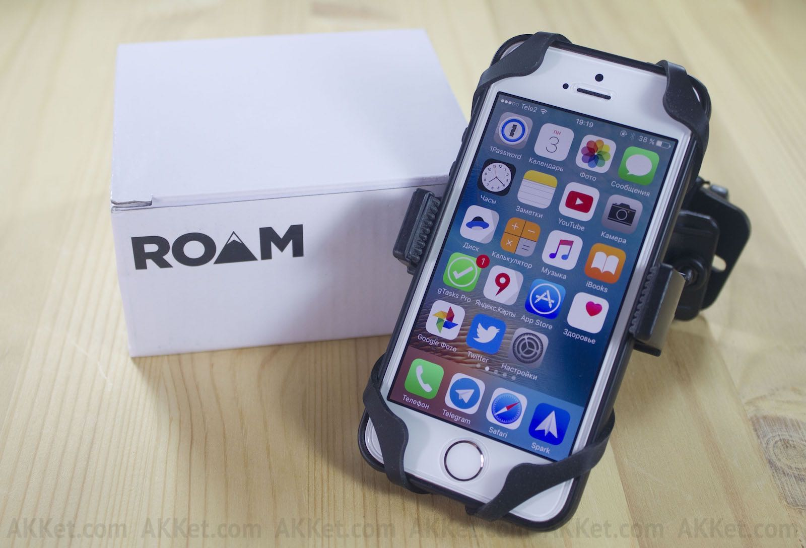 Roam Co-Pilot iPhone Android Bike 13