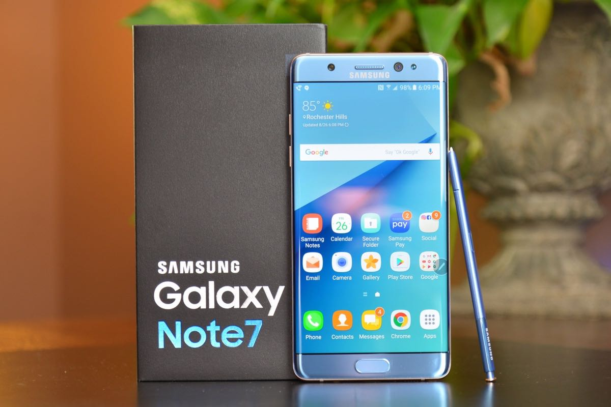 Samsung Galaxy Note 7 Fire Buy 3