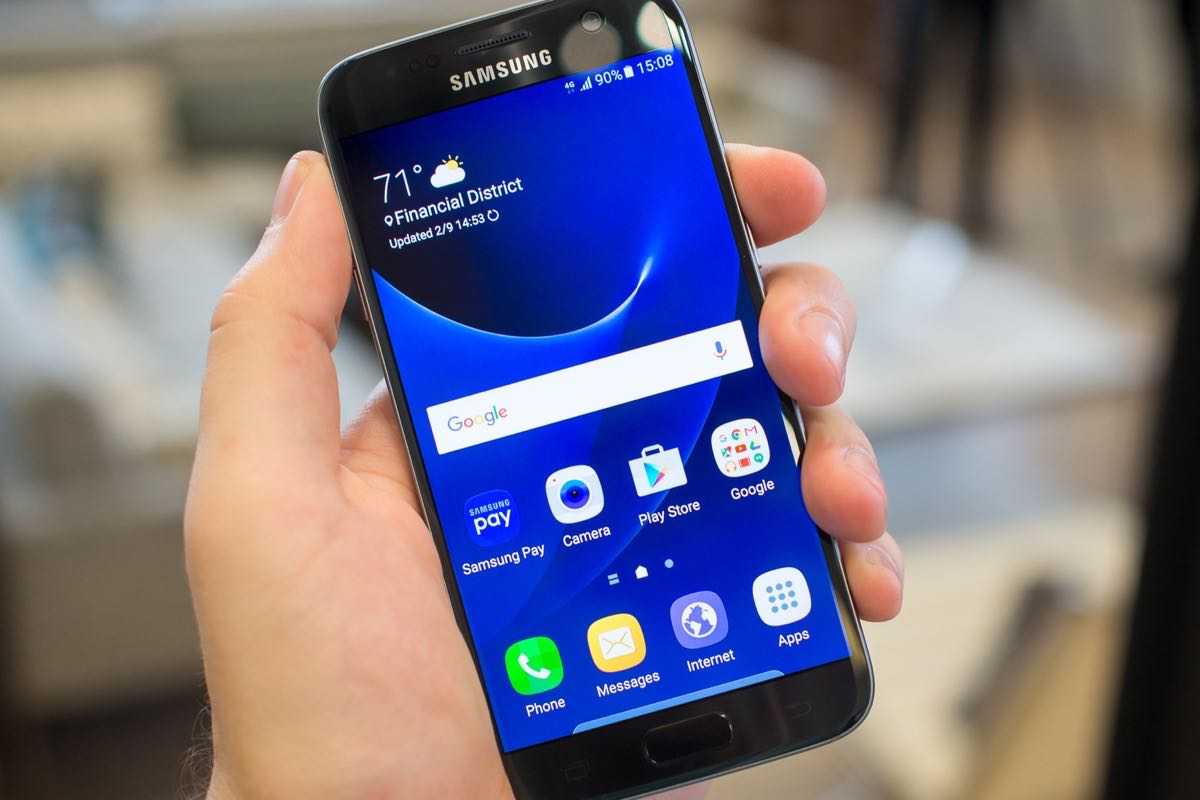 Samsung Galaxy S7 Android Nougat 3