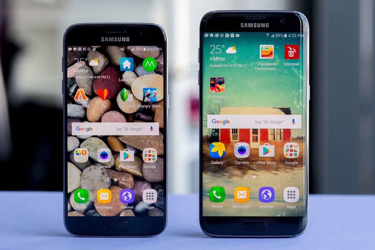 Samsung Galaxy S7 edge Android 7.0 Nougat download 4