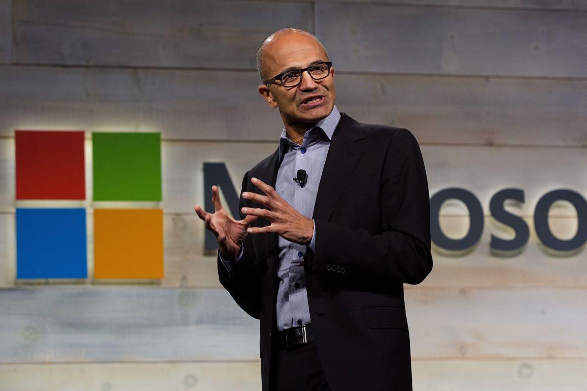 Сатья наделла Microsoft 2