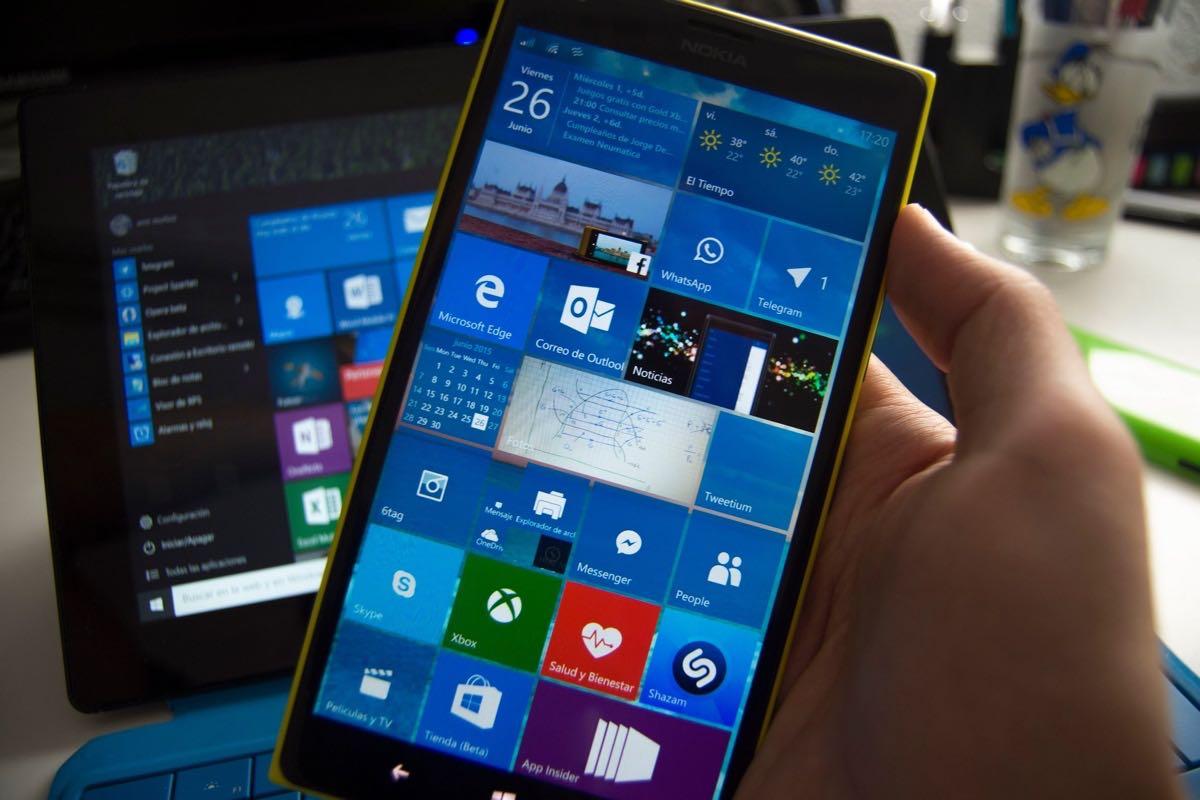 Windows 10 Mobile 3