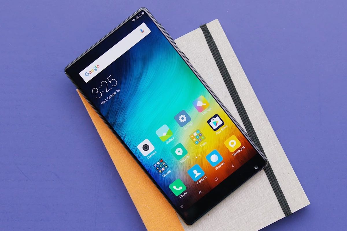Xiaomi Mi Mix 1 Samsung Galaxy S8 3