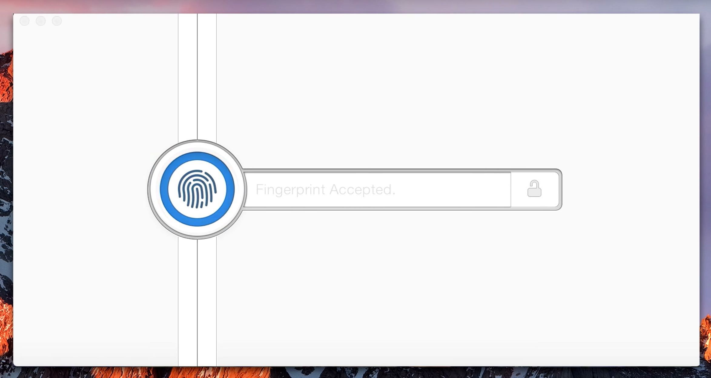 macOS Sierra 1Password Touch ID