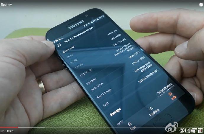 Always On Display Samsung Galaxy A5 2017 3