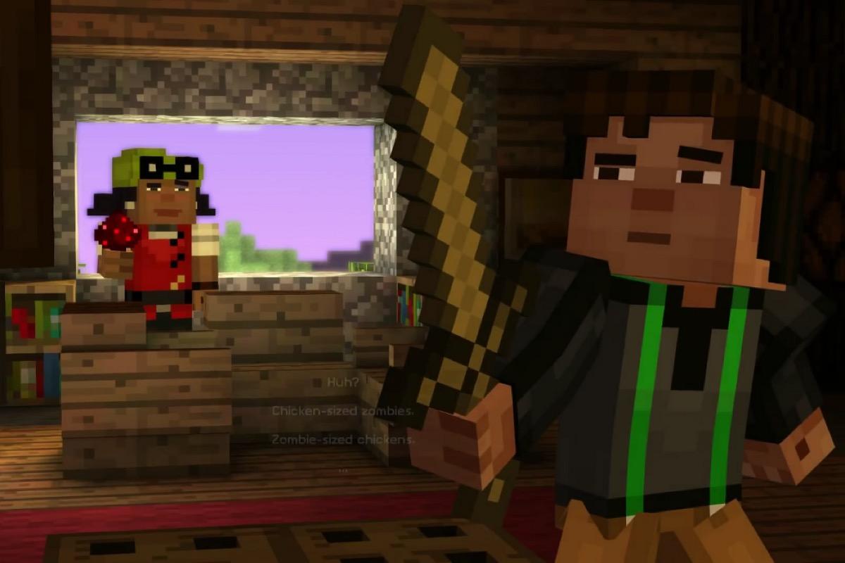 Скачать Minecraft Story Mode бесплатно