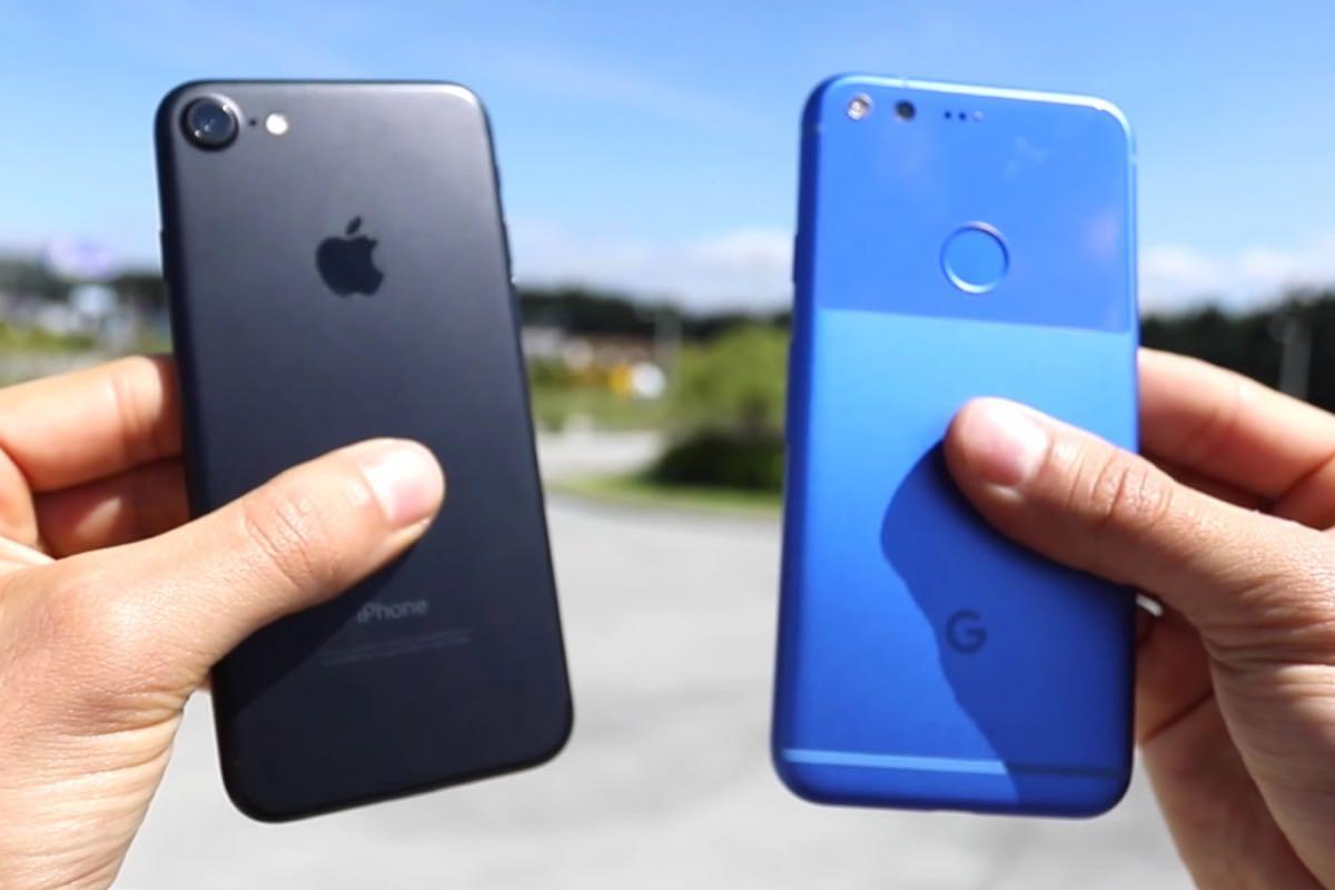 Apple iPhone 7 Google Pixel SmartPhone 3