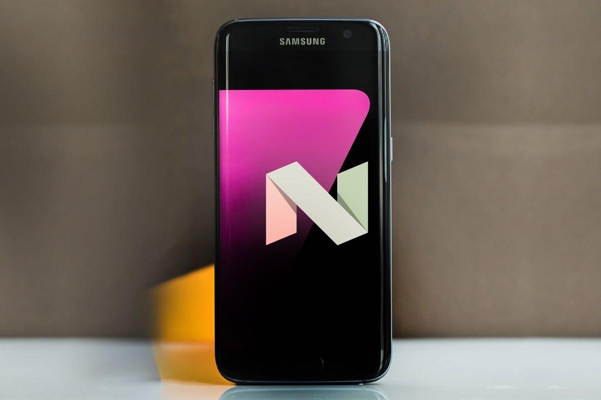 Galaxy S7 Nougat