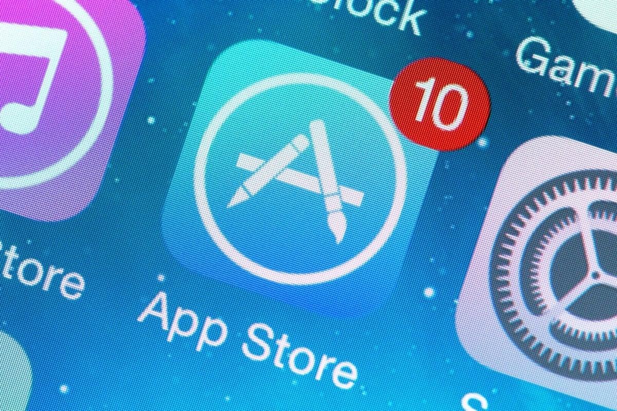 App Store Update Icon non App Store