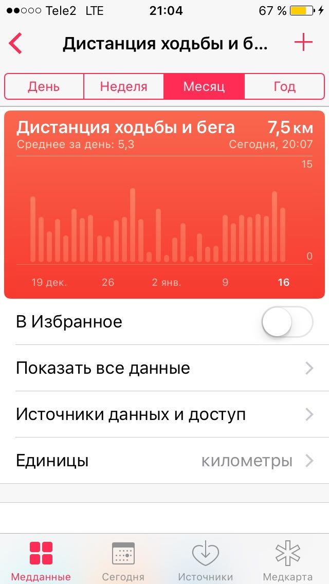 Apple Health iOS 10 iPhone SE 4
