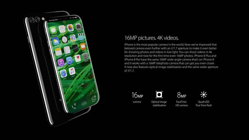 Apple iPhone 8 Concept 2017 2