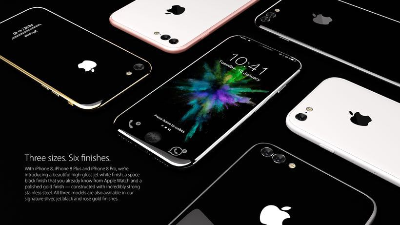 Apple iPhone 8 Concept 2017 3